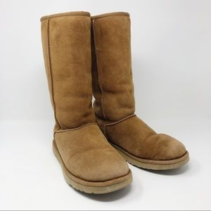 Classic Tall II Boot Size: 8 Chestnut